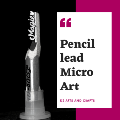 PENCIL CARVING MICRO ART