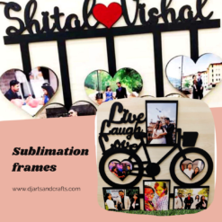 SUBLIMATION FRAMES